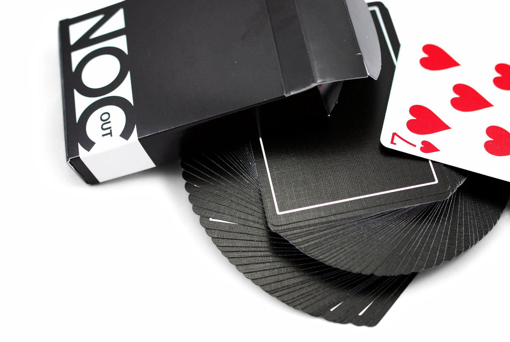NOC Out: Black Playing Cards by HOPC
