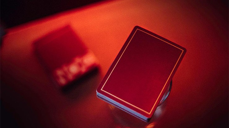 NOC Out: Red/Gold Playing Cards by HOPC