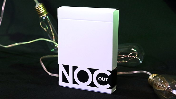 NOC Out: White Playing Cards by HOPC