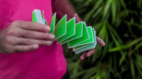 NOC Sport: Green Playing Cards by HOPC