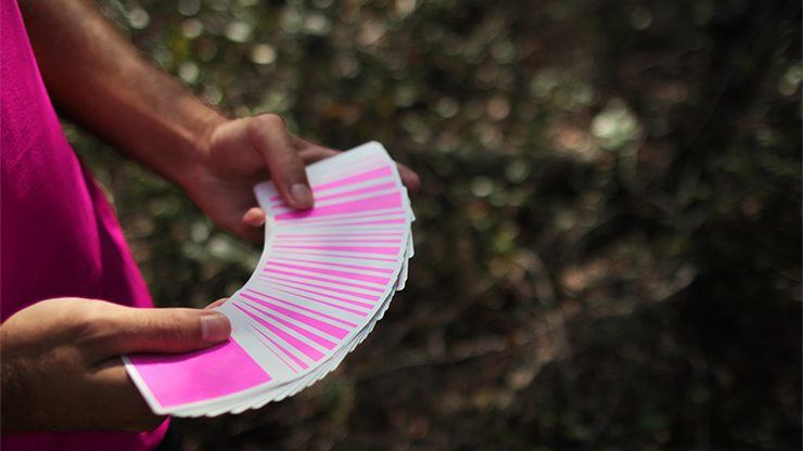 NOC Sport: Pink Playing Cards by HOPC