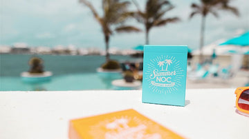 NOC Summer Limited Edition: Blue Playing Cards by HOPC