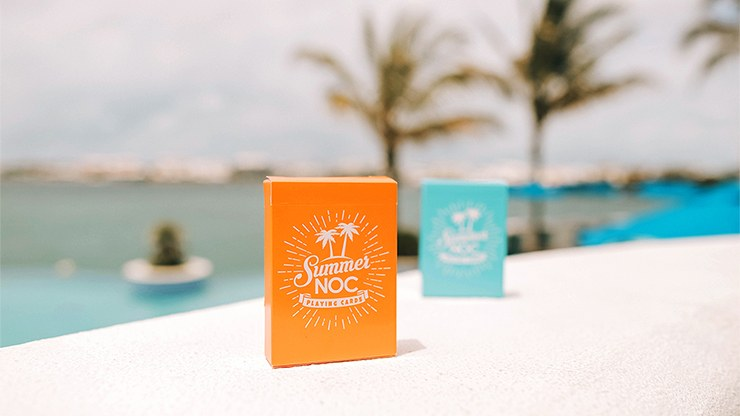 NOC Summer Limited Edition: Orange Playing Cards by HOPC