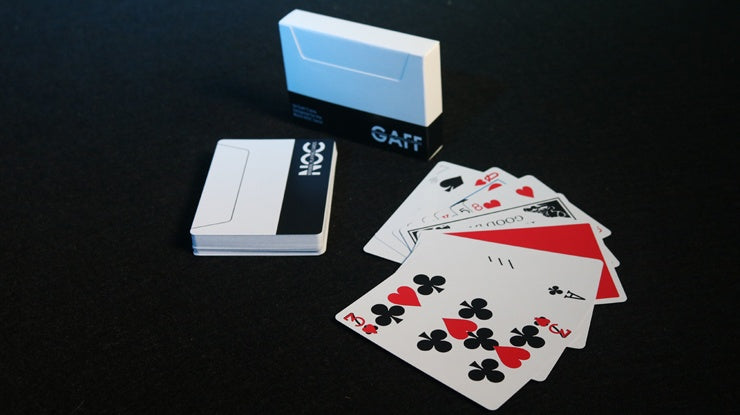 NOC V3S Gaff Deck (Black) Playing Cards by The Blue Crown