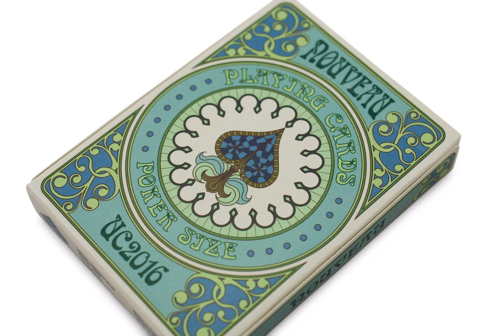Nouveau Playing Cards - RarePlayingCards.com - 4