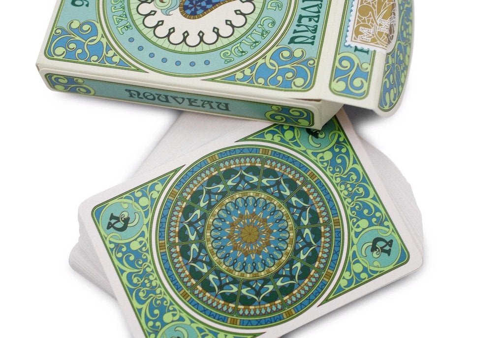 Nouveau Playing Cards - RarePlayingCards.com - 6