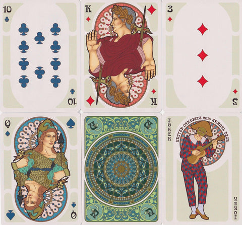 Nouveau Playing Cards - RarePlayingCards.com - 1