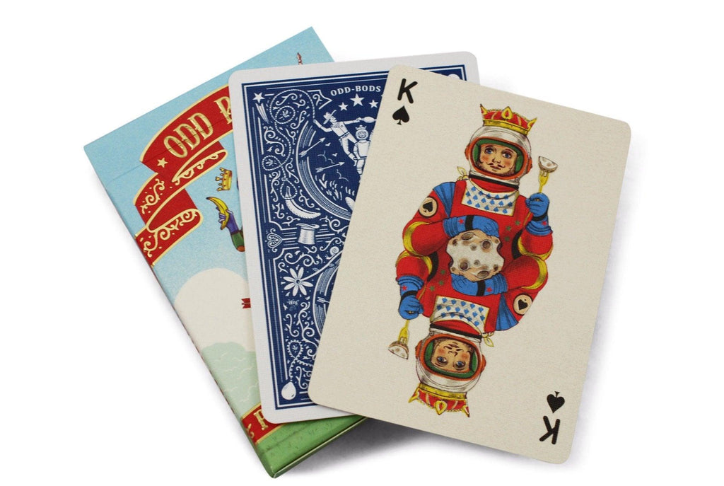 Odd Bods Playing Cards - RarePlayingCards.com - 7