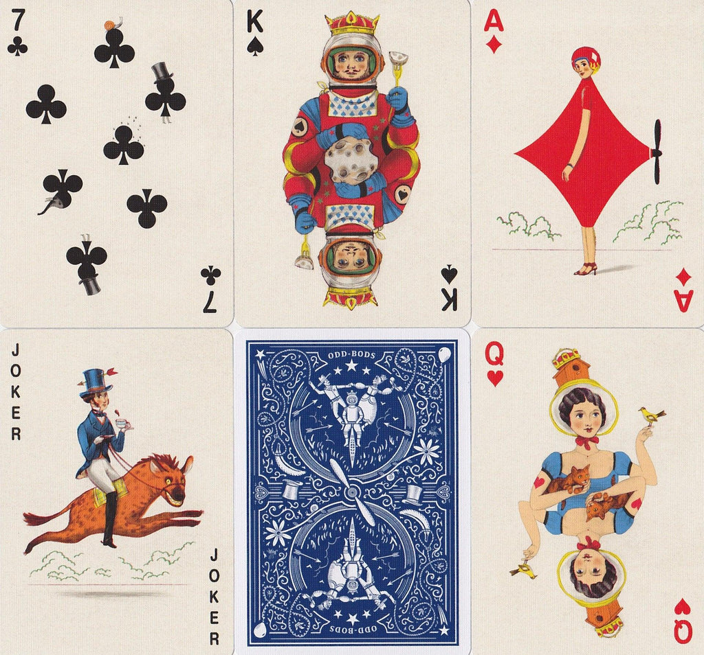 Odd Bods Playing Cards - RarePlayingCards.com - 8