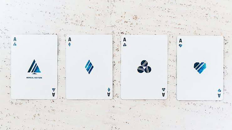 Odyssey Boreal Edition Playing Cards by Hanson Chien