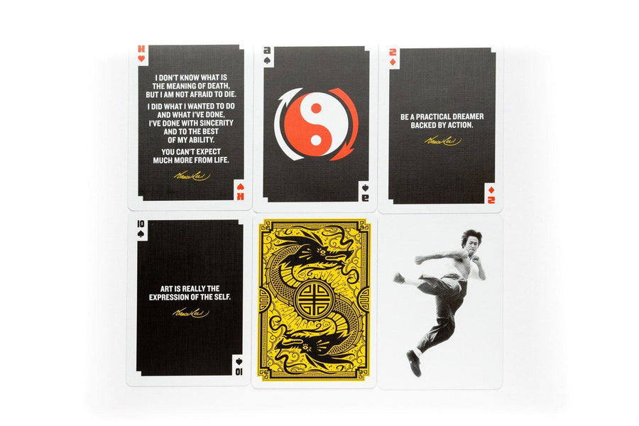 Official Bruce Lee Playing Cards by Art of Play