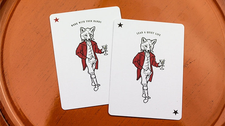 Olive Tally Ho Playing Cards by Kings Wild Project
