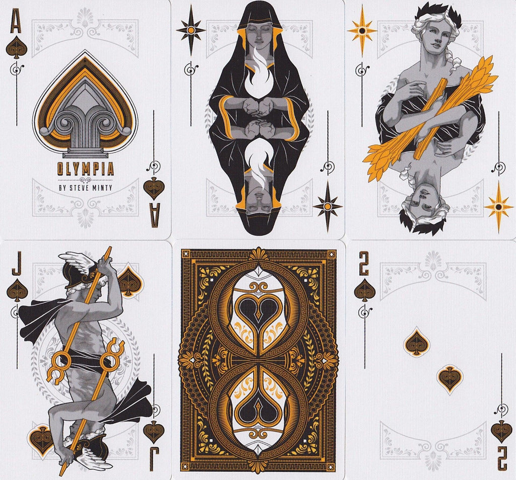 Olympia Playing Cards - RarePlayingCards.com - 9