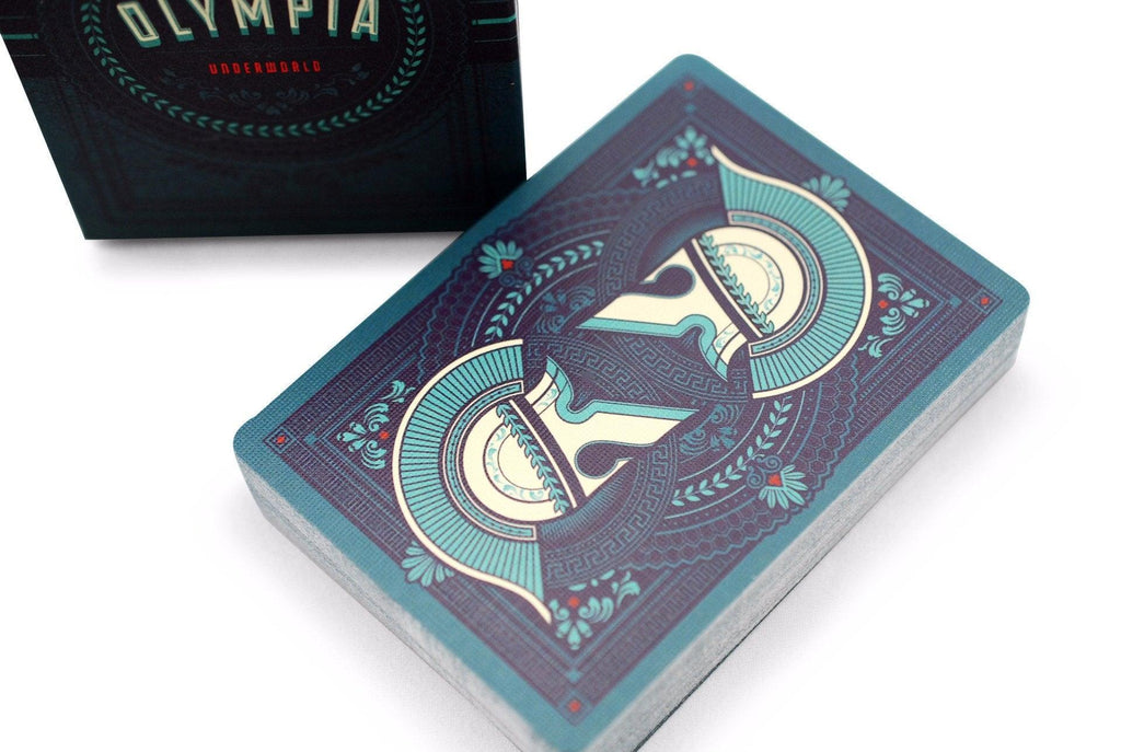 Olympia Underworld Playing Cards - RarePlayingCards.com - 1