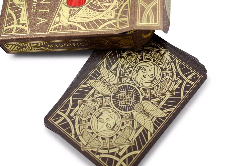 Omnia Magnifica Playing Cards - RarePlayingCards.com - 6