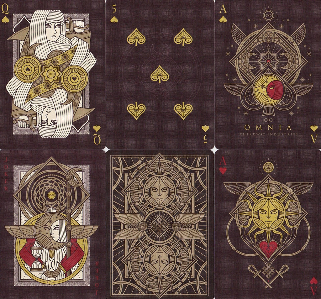 Omnia Magnifica Playing Cards - RarePlayingCards.com - 9