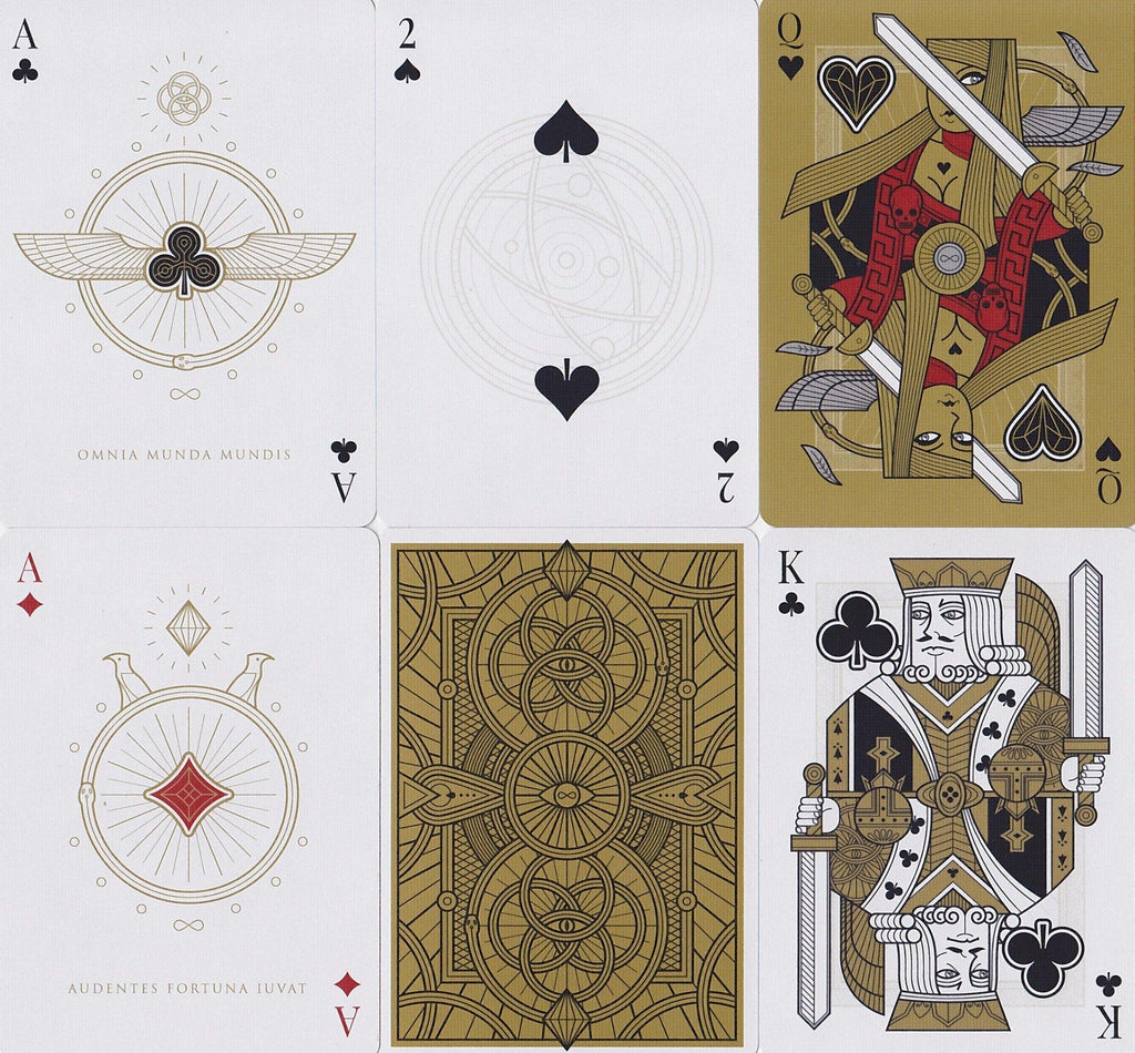 Omnia Oscura Playing Cards - RarePlayingCards.com - 9