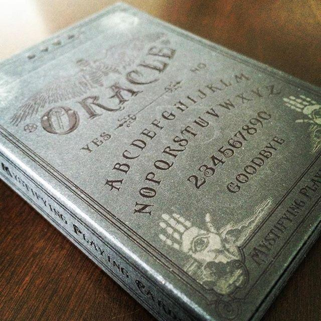 Oracle Shadow Edition Playing Cards