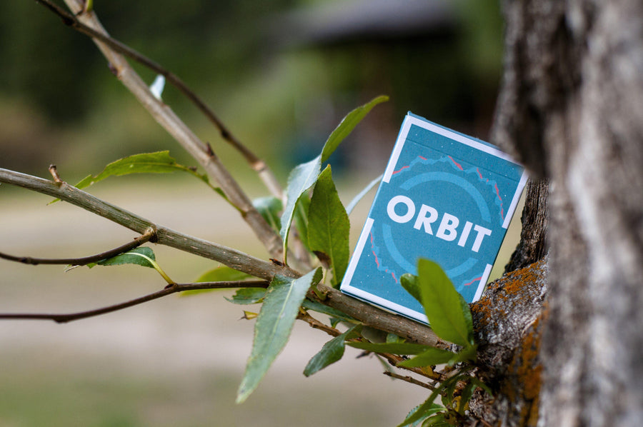 Orbit V5 Playing Cards by Orbit Brown