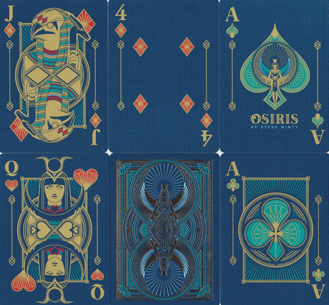 Osiris Playing Cards - RarePlayingCards.com - 1