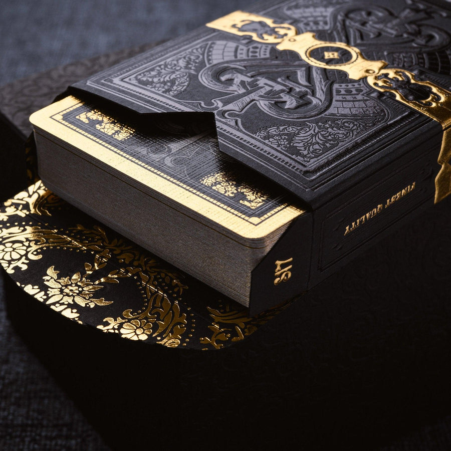 Parlour Playing Cards Black - Stockholm 17