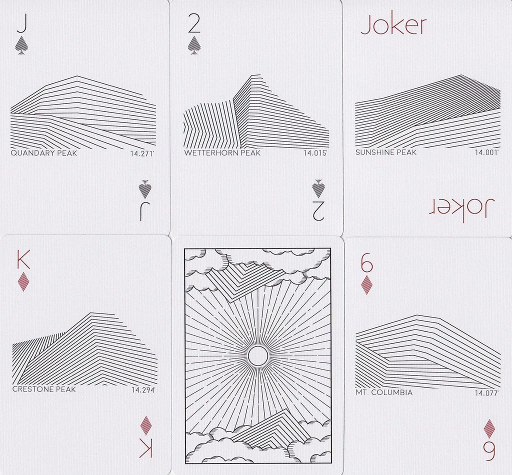 Peak Playing Cards - RarePlayingCards.com - 9