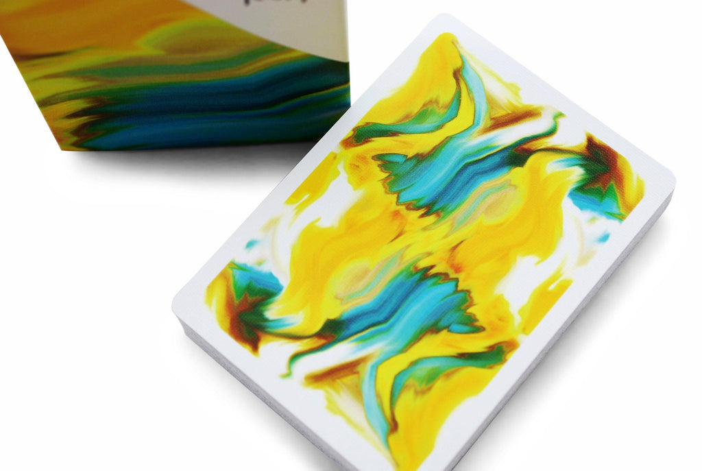 Pearl: Sunrise Playing Cards by Hanson Chien