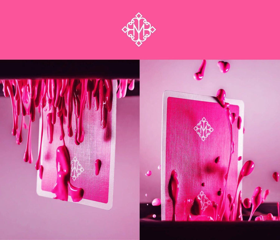 Pink Madison Rounders Playing Cards by Ellusionist