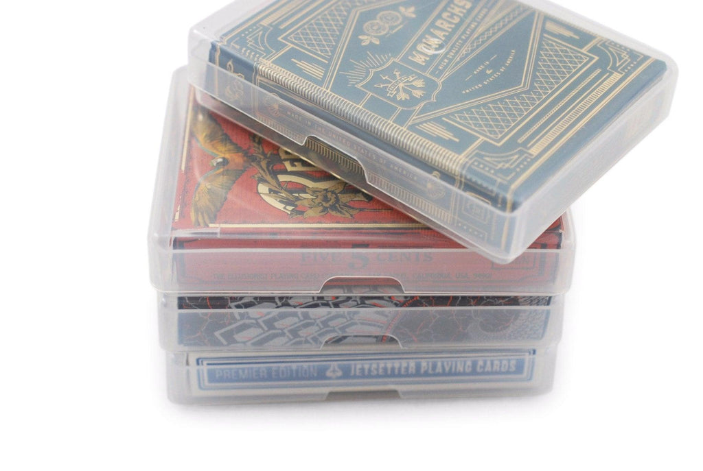 Plastic Playing Card Storage Box Playing Cards by RarePlayingCards.com