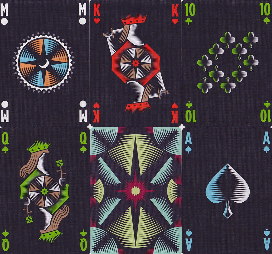 Polaris Playing Cards by Vanda