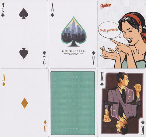 Pressers Playing Cards by Ellusionist