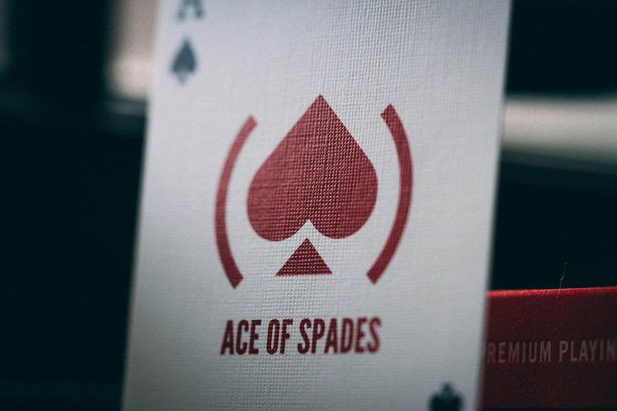 (Product) Red Playing Cards by Theory11