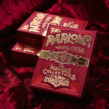 Parlour Playing Cards - Red Stockholm17