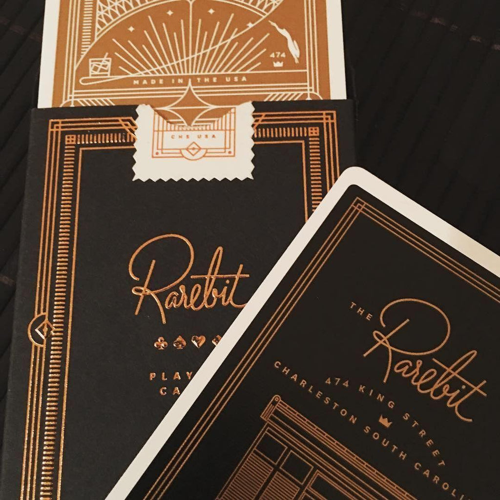 Rarebit, Copper Edition Playing Cards - RarePlayingCards.com - 10