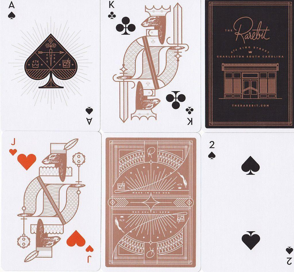Rarebit Copper Edition Playing Cards - RarePlayingCards.com - 11