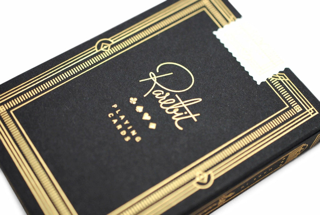 Rarebit, Gold Edition Playing Cards by Theory11