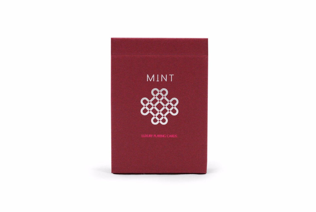 Raspberry Mint Playing Cards - RarePlayingCards.com - 2