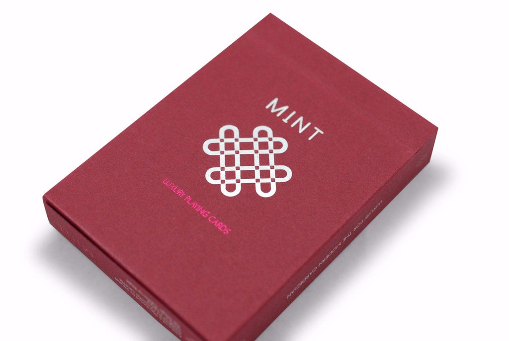 Raspberry Mint Playing Cards - RarePlayingCards.com - 3