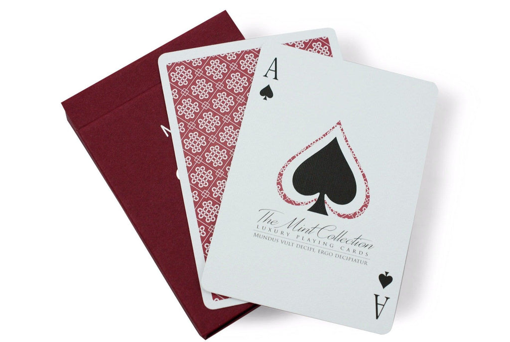 Raspberry Mint Playing Cards - RarePlayingCards.com - 6
