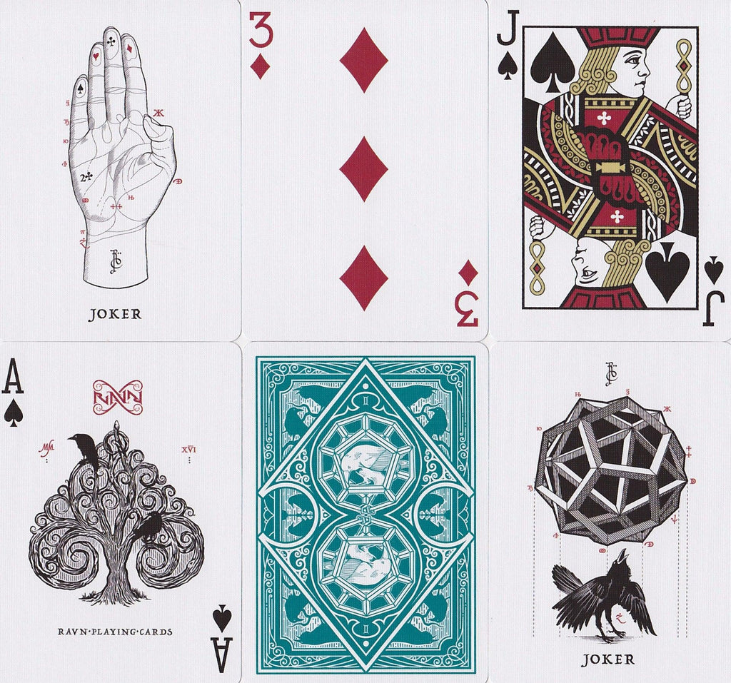 Ravn Playing Cards - RarePlayingCards.com - 8