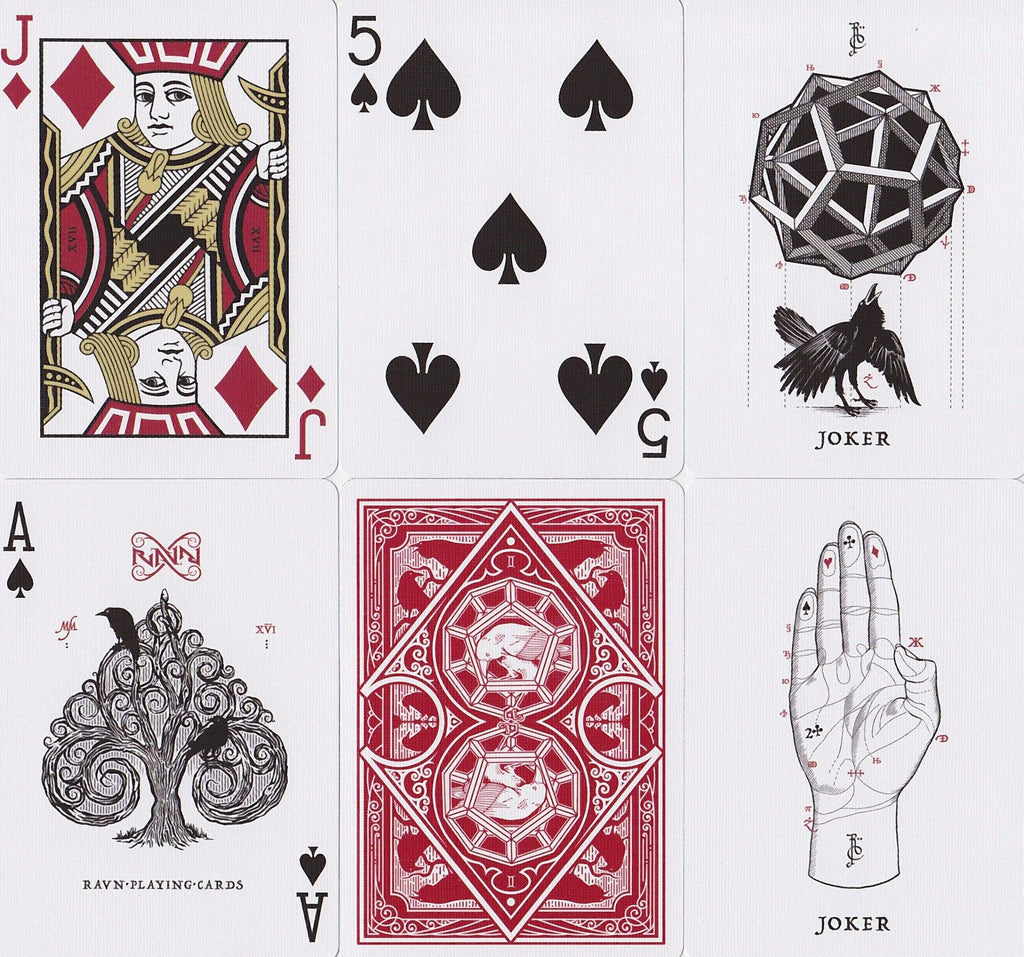 Ravn Playing Cards - RarePlayingCards.com - 9
