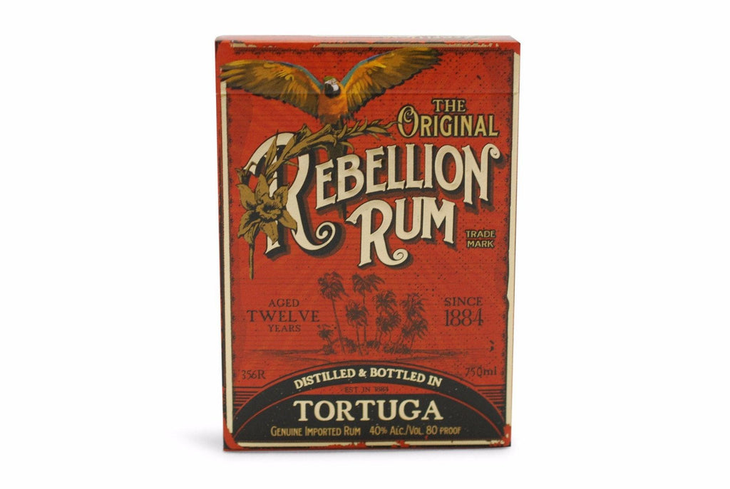 Rebellion Rum Playing Cards - RarePlayingCards.com - 2