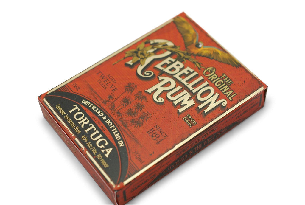 Rebellion Rum Playing Cards - RarePlayingCards.com - 4