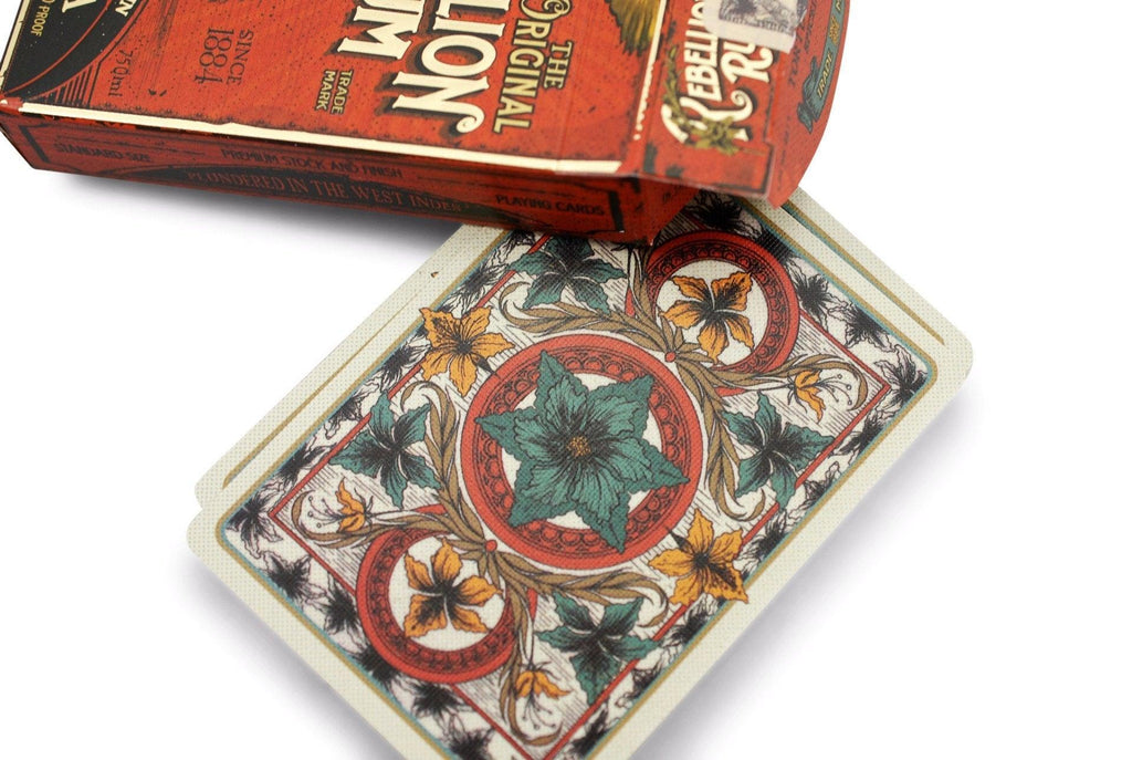Rebellion Rum Playing Cards - RarePlayingCards.com - 5