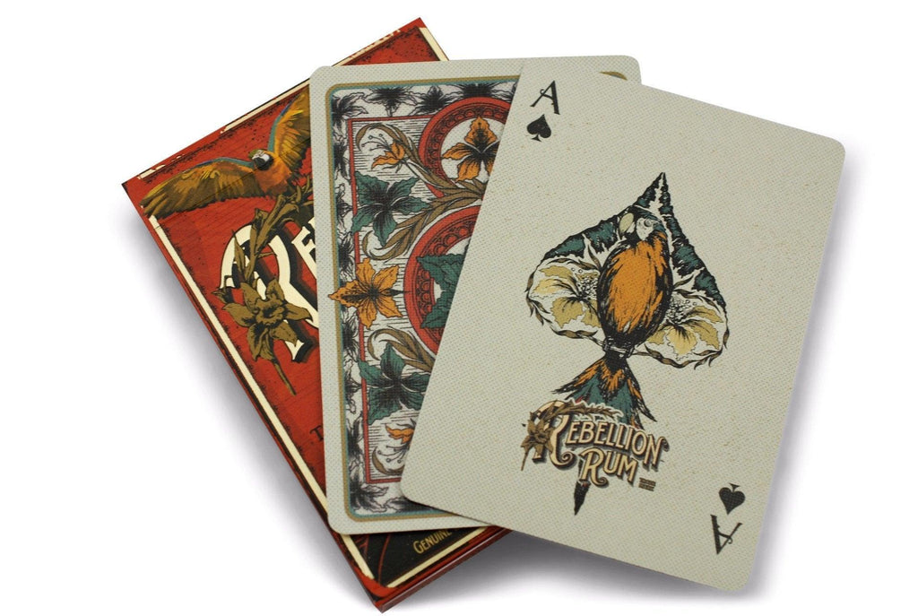 Rebellion Rum Playing Cards - RarePlayingCards.com - 8
