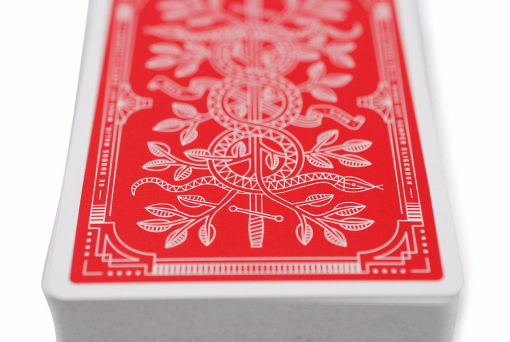 Red Monarchs 2nd Ed. Playing Cards - RarePlayingCards.com - 7