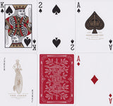 Red Monarchs 2nd Ed. Playing Cards - RarePlayingCards.com - 9