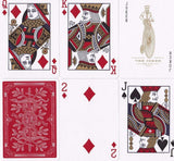 Red Monarchs Limited 1st Ed. Playing Cards - RarePlayingCards.com - 9