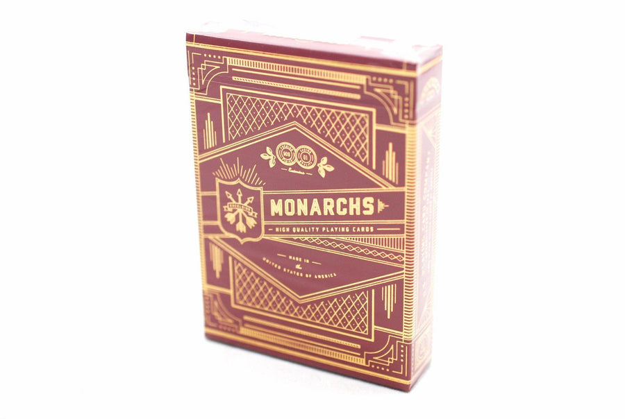 Red Monarchs Limited 1st Ed. Playing Cards by Theory11