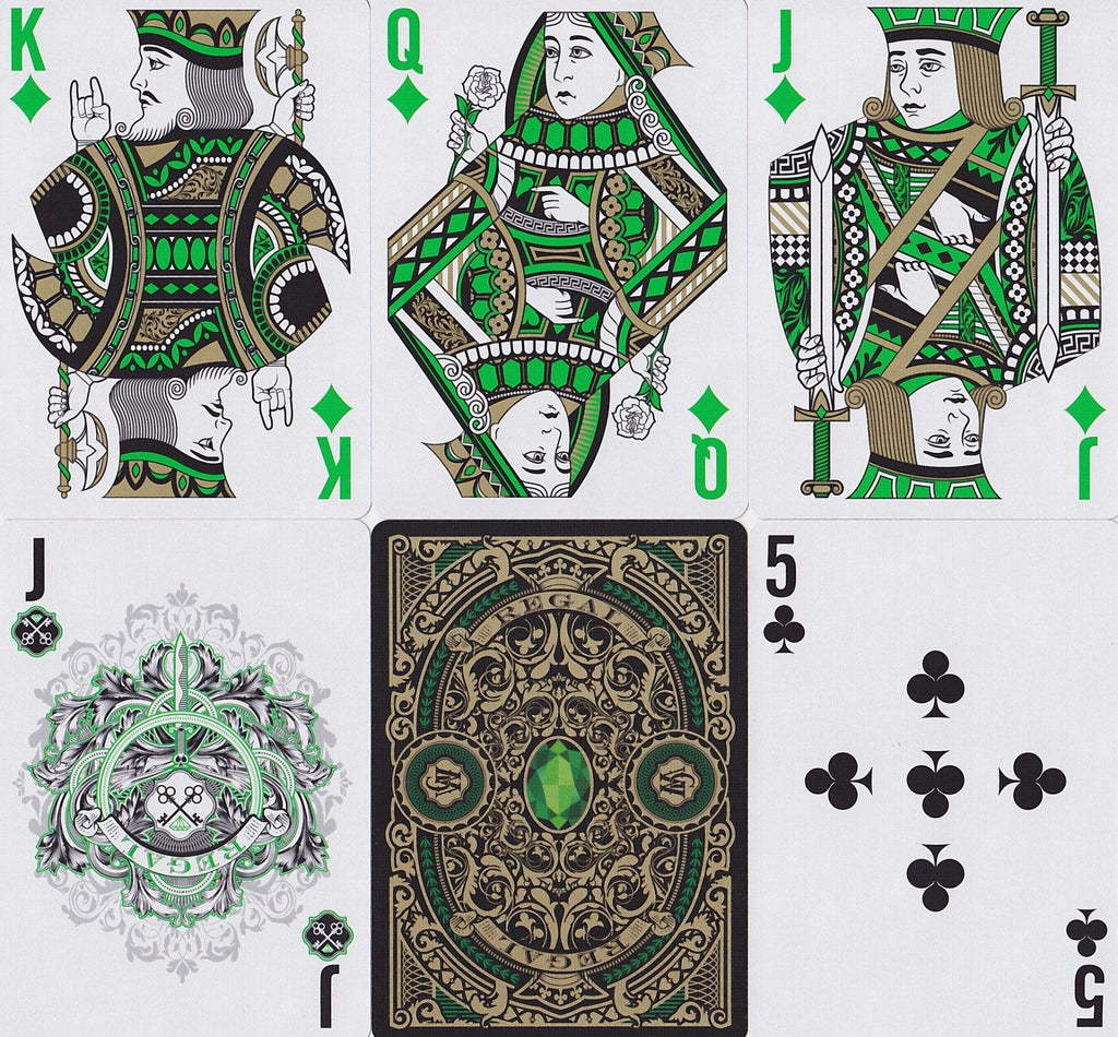 Regal Playing Cards - RarePlayingCards.com - 10